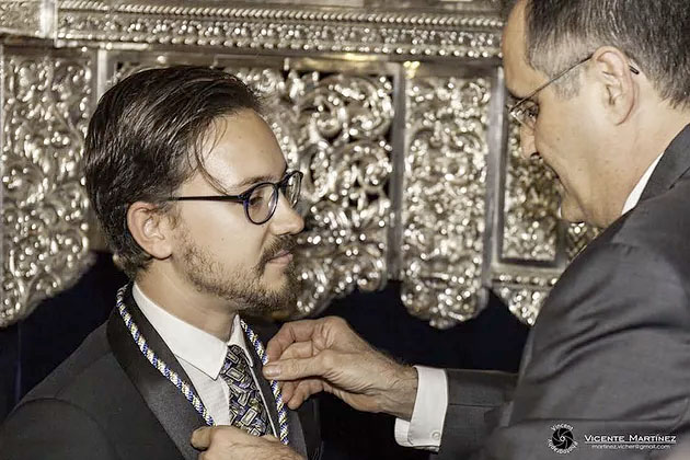 Rubén Jordán Hermano de Honor