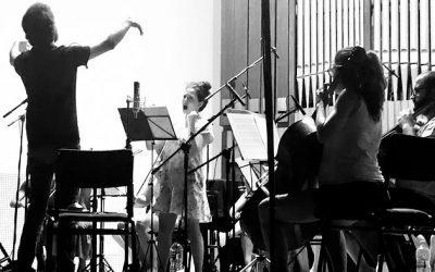 Rubén Jordán graba su música para IBS Classical
