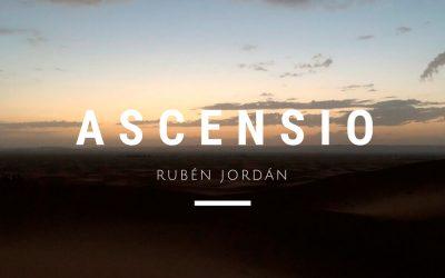 Rubén Jordán presents his new album: ASCENSIO